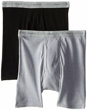 Hanes Red Label Underwear - Bottoms 2349VT Mens 2-Pack Exposed Waistband