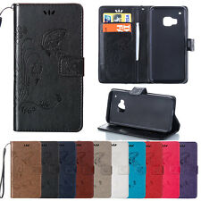 Magnetic Flip Stand Wallet PU Leather Card Holder Case Cover Pouch For HTC hdh