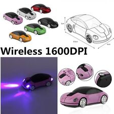 Creative 2.4GHZ Wireless Car Shape Mouse 1600DPI Wireless Optical Mouse Mice WS