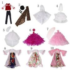 Fashion/Casual/Modern/Vintage Doll Clothes for Barbie Doll Dress Up ACCS Kid Toy