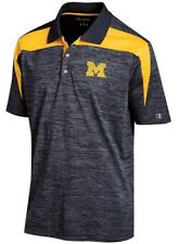 "Michigan Wolverines NCAA Champion ""Booster"" Men's Performance Polo Shirt"