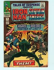 Tales of Suspense 78 7.0 FN/VF Iron Man Captain America Marvel Comics Rare