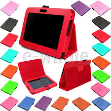 PU Leather Book Stand Folio Case Cover for Amazon Kindle Fire HD 7 inch  EW