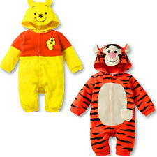 Baby Kids Toddler Tiger Animal Bodysuit Romper Jumpsuit One-Piece Costume Outfit