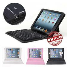 New Leather Case Cover Built-in Bluetooth Wireless Keyboard for iPad Mini 2/3/4