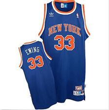 Patrick Ewing #33 New York Knicks Swingman Basketball Jersey Blue S-XXL