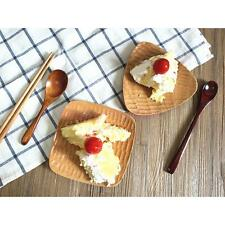 Japanese Style Triangle / Square Tray Food Cheese Plate Cafe Cake Platter Wood