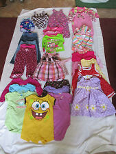LARGE LOT BABY GIRL CLOTHES 18 MONTHS CARTERS OKIE-DOKIE FADED GLORY OSH KOSH
