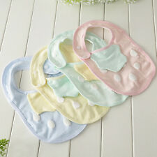 Strawberry Baby Bibs Cute Cotton Bib Buckle Toddler Saliva Towels  jbs