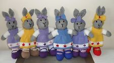 Hand Knitted Easter Bunny Rabbit Soft Toy NEW