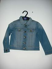 BNWOT Girls Denim Jacket. Mid Blue. Age 2-8 Years