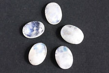 Blue Fire Rainbow Moonstone Calibrated Cabochons 14x10MM Oval Shape, AG-204
