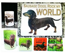 DACHSHUND - SAUSAGE DOGS  -  GIFTS - COASTERS - STUBBY HOLDERS - STICKERS