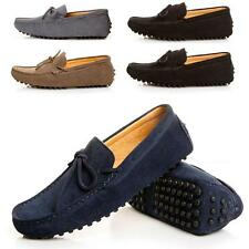 Stylish Casual Moccasin Loafer Slip on Driving Mens Suede Leather Shoes us size