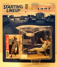 STARTING LINEUP - BERNIE WILLIAMS of the NEW YORK YANKEES – VARIOUS YEARS – NEW