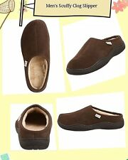 Tamarac by Slippers Men's Scuffy Clog Slipper Rootbeer Size 910111213D(M)