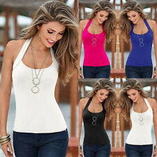 Fashion Women Ladies Summer Vest Top Sleeveless Blouse Casual Tank Tops T-Shirt