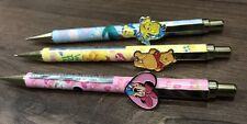 Rare Disney Minnie Mouse Mechanical Pencil Winnie The Pooh Little Mermaid Limite
