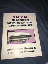 1970 70  DODGE CHARGER  500/RT  ILLUSTRATED FACTS