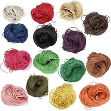 16 Colors 80 Meters 1mm Cotton Cords Strings Ropes for DIY Necklace Craft Making