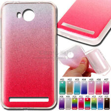 For Huawei Y3II TPU Soft Cover Shell Sparkly Gel Case Skin Glitter Gradient Back
