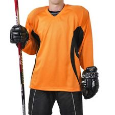 Firstar Arena 2 Color Hockey Jersey   Orange & Black  with Name & Number