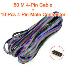 4 Pin RGB Extension Wire Connector Cable Cord for 3528 5050 RGB LED Strip