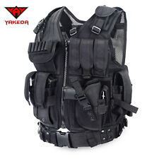 Vest Tactical Molle Military Carrier Load New Condor Plate Us Black Fighting New