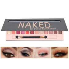 Cosmetic Makeup Shimmer Matte Naked 12 Colors Pigment Eyeshadow Palette Sombras