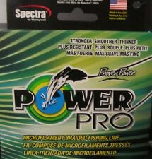 Spectra POWER PRO Microfilament Braided Moss Green Fishing LIne Made USA NEW