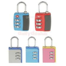 3-Dial Combination Padlock Drawer Bag Lock for Home Office School Gym Locker