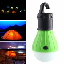 Outdoor Hanging Camping Tent Light 3LED Bulb Fishing Lantern Lamp Durable ABS OO