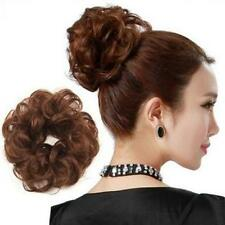 1pc Hair Wave Ponytail Holders Scrunchy Bun Pony Tail Extensions Hairpiece Gifts