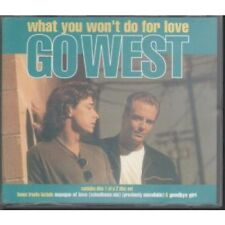 GO WEST What You Won't Do For Love CD UK Chrysalis 1993 3 Track Part 1 In Z