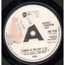 """POCO Starin' At The Sky 7"""" VINYL UK Abc 1976 Promo B/W Pns When You Come Around"""