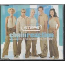 STEPS (POP GROUP) Chain Reaction CD European Jive 2001 3 Track B/W One For
