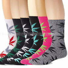 Crew Weed Cotton Long Sport Fashion Marijuana Leaf Socks Ankle Sock Womens Mens