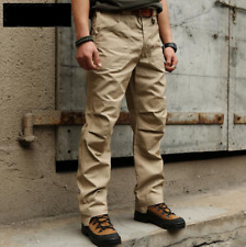 Men Urban Cotton Pants Outdoor Tactical Trousers Casual Military pockets trouser