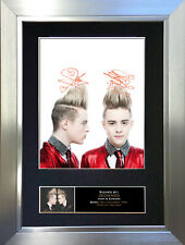 JEDWARD Signed Autograph Mounted Photo Reproduction A4 Print 210