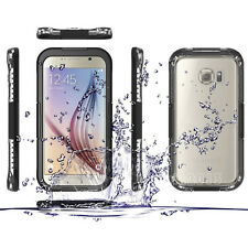 Waterproof Shockproof Dirtproof Heavy Duty Hard Case Cover for Samsung S6 & Edge