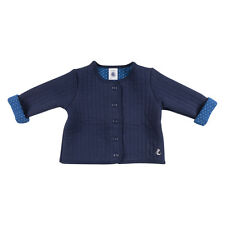 Petit Bateau Baby Girls Quilted Cardigan