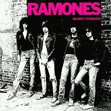"1977 RAMONES ROCKET TO RUSSIA Punk Rock Band Vintage Album Poster 20×20"" 24×24"""