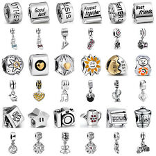Fashion European Sterling Family 925 Silver Charms Bead for Lot Bracelet Chain