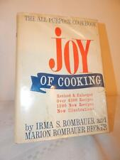 THE JOY OF COOKING Irma Rombauer Vintage 1967 HC/DJ Cookbook Recipes All Purpose