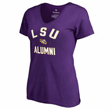 Fanatics Branded LSU Tigers Women's Purple Team Alumni V-Neck T-Shirt - College