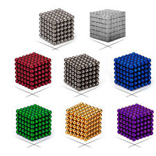 5mm 216pcs Toy Magnet Magic Ball Square 3D Puzzle Cube Ball Sphere DIY Kids Gift