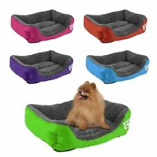 Pet Dog Cat Bed Cushion House Pet Soft Warm Kennel Dog Mat Blanket 5 Colors ZE
