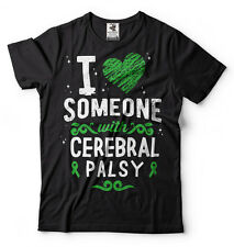 Cerebral Palsy Awareness T-shirt I love someone with Cerebral Palsy Tee Shirt
