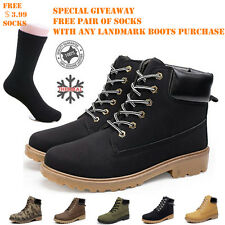 MENS WORK SAFETY SHOES LEATHER BOOTS HARD TOE CAP ANKLE BOOTS SHOES TRAINERS NWT