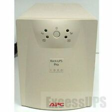 APC BACK-UPS PRO 1000VA BP1000 WITH NEW BATTERIES! 1 YEAR WARRANTY INCLUDED!